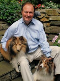 John Dobbyn with Dogs